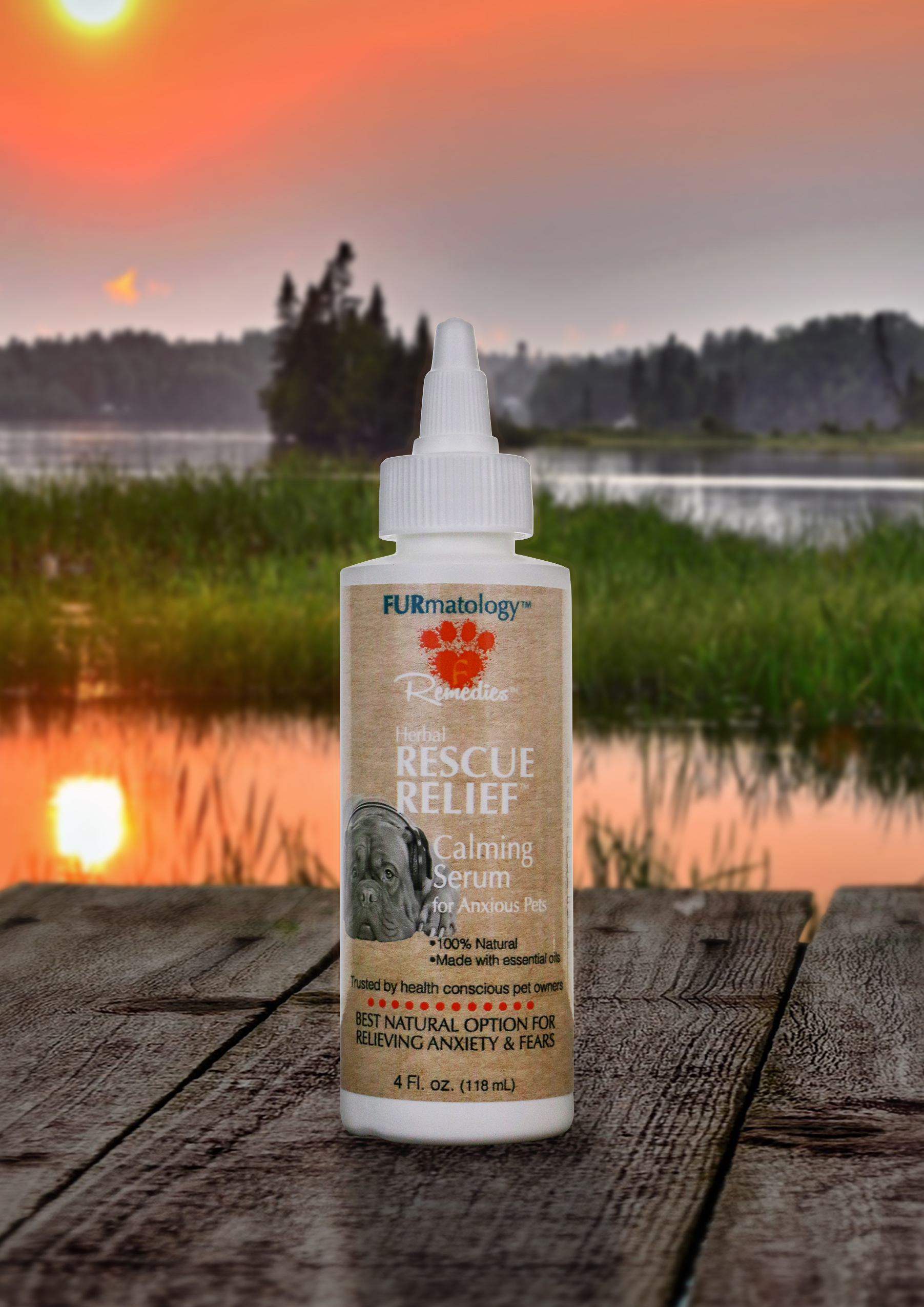 Furmatology Herbal RESCUE RELIEF Calming Serum