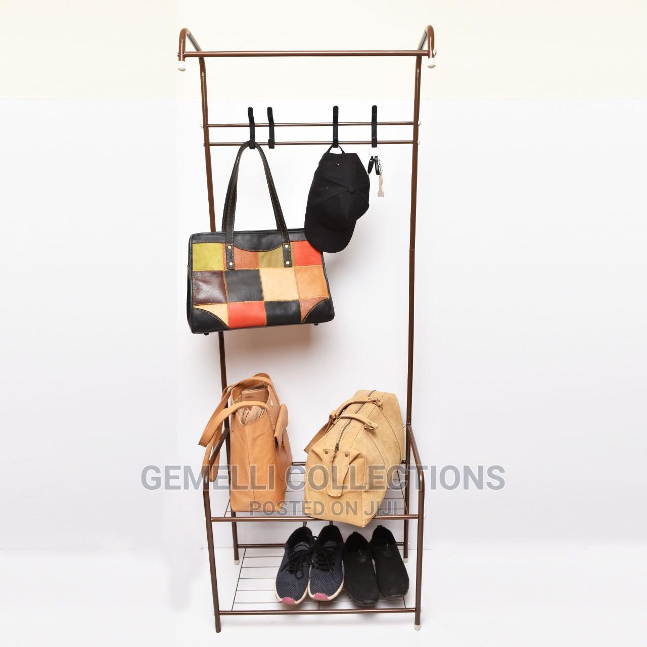 shoe rack coat hanger