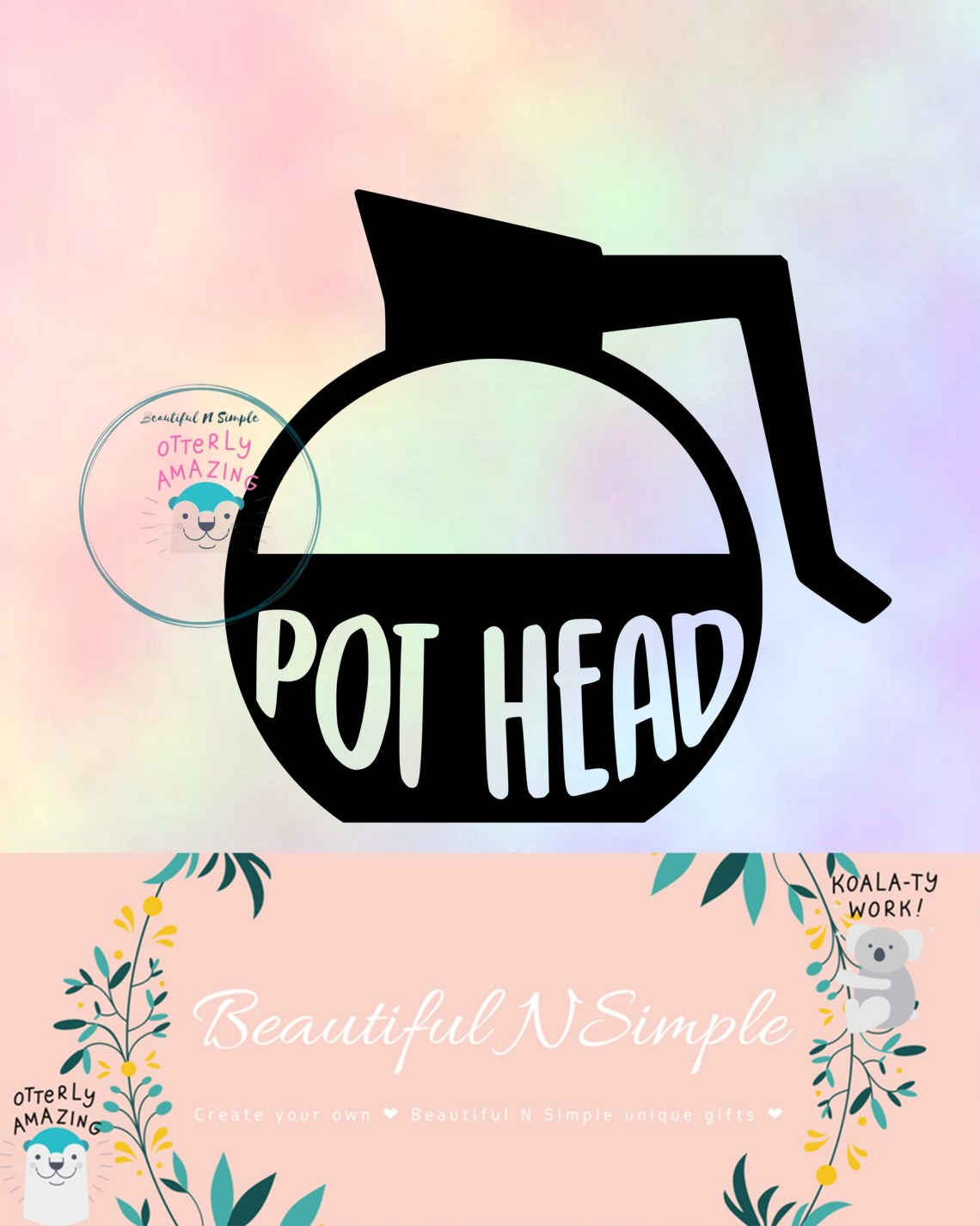 Download Coffee Pot Pothead Coffee Lover SVG DXF File ...