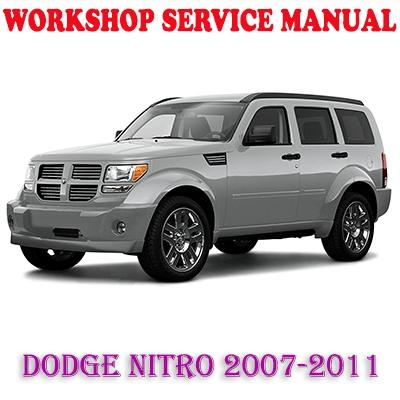 dodge nitro 2007 2011 workshop service repair manual pdf download