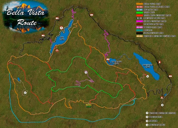 Bella Vista Route - Assetto Corsa Tracks