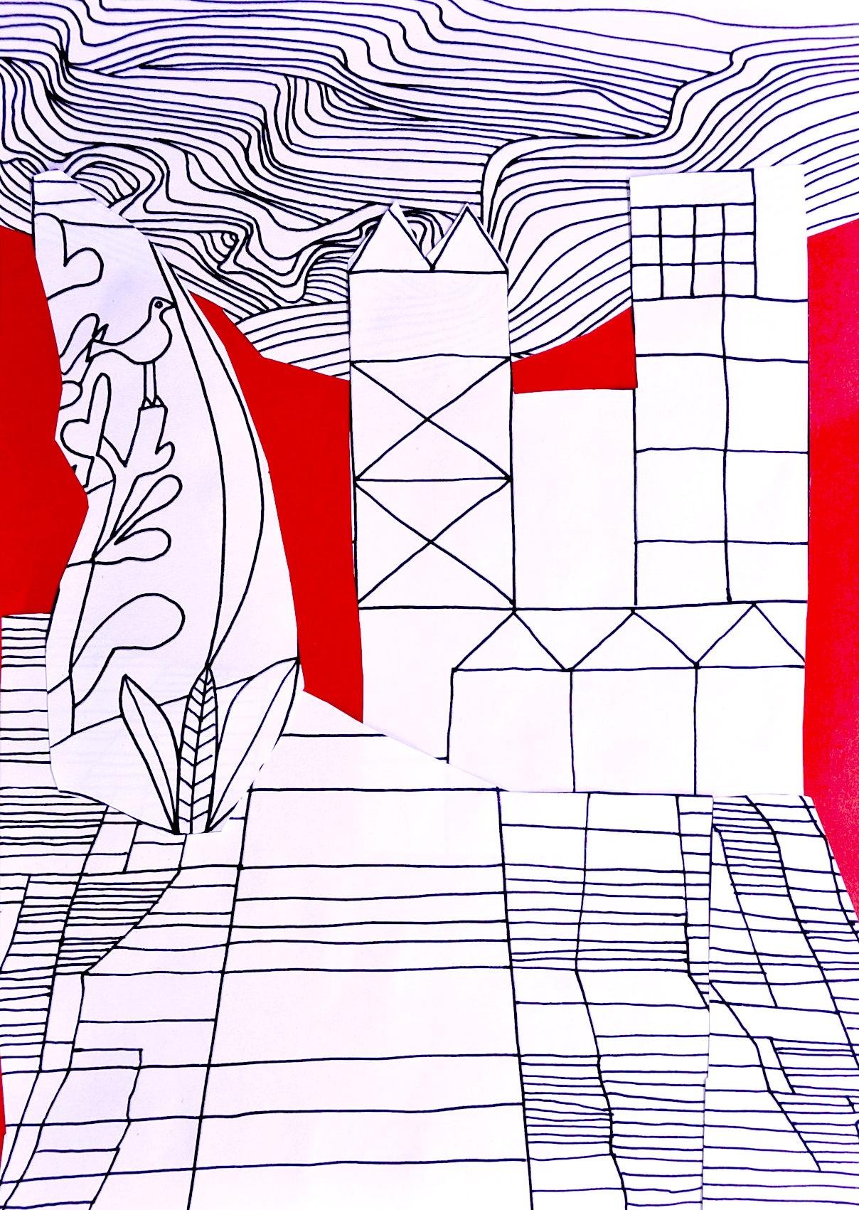 Collage Paul Klee 5 Worksheets
