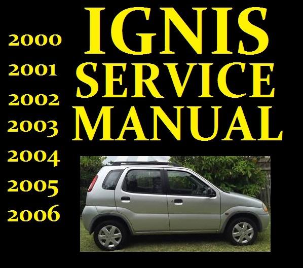 Suzuki IGNIS Service Workshop Repair Manual Wiring