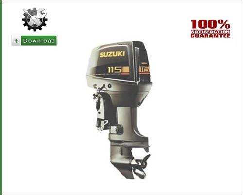 15 Hp Suzuki outboard service Manual 4 stroke Pdf Free