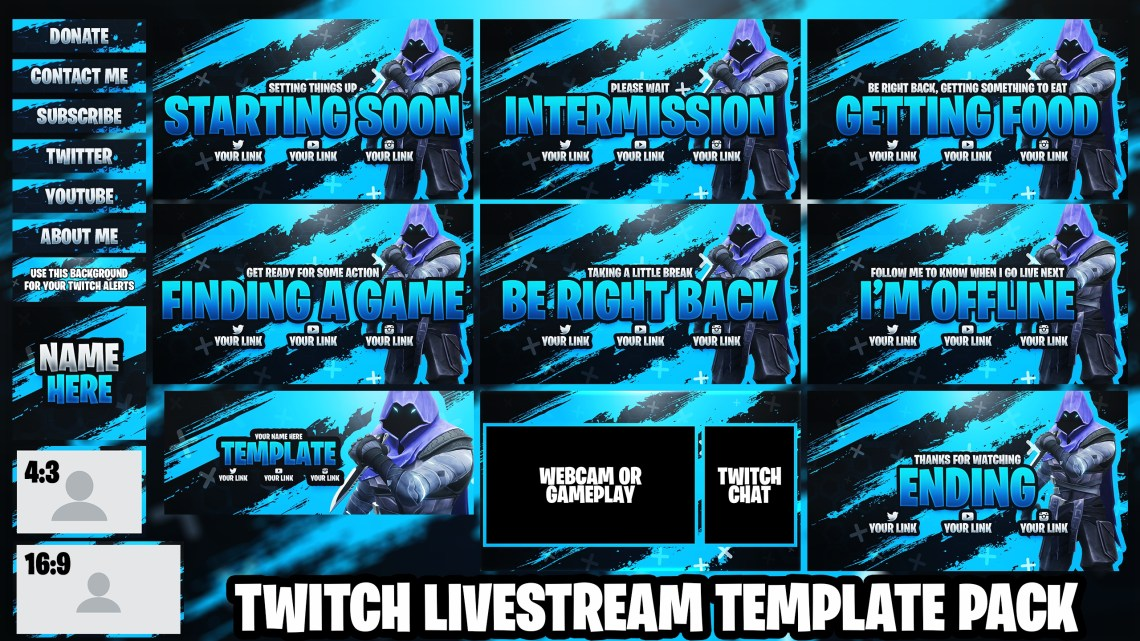 Download Valorant Twitch Live Stream Essentials Template Pack ...