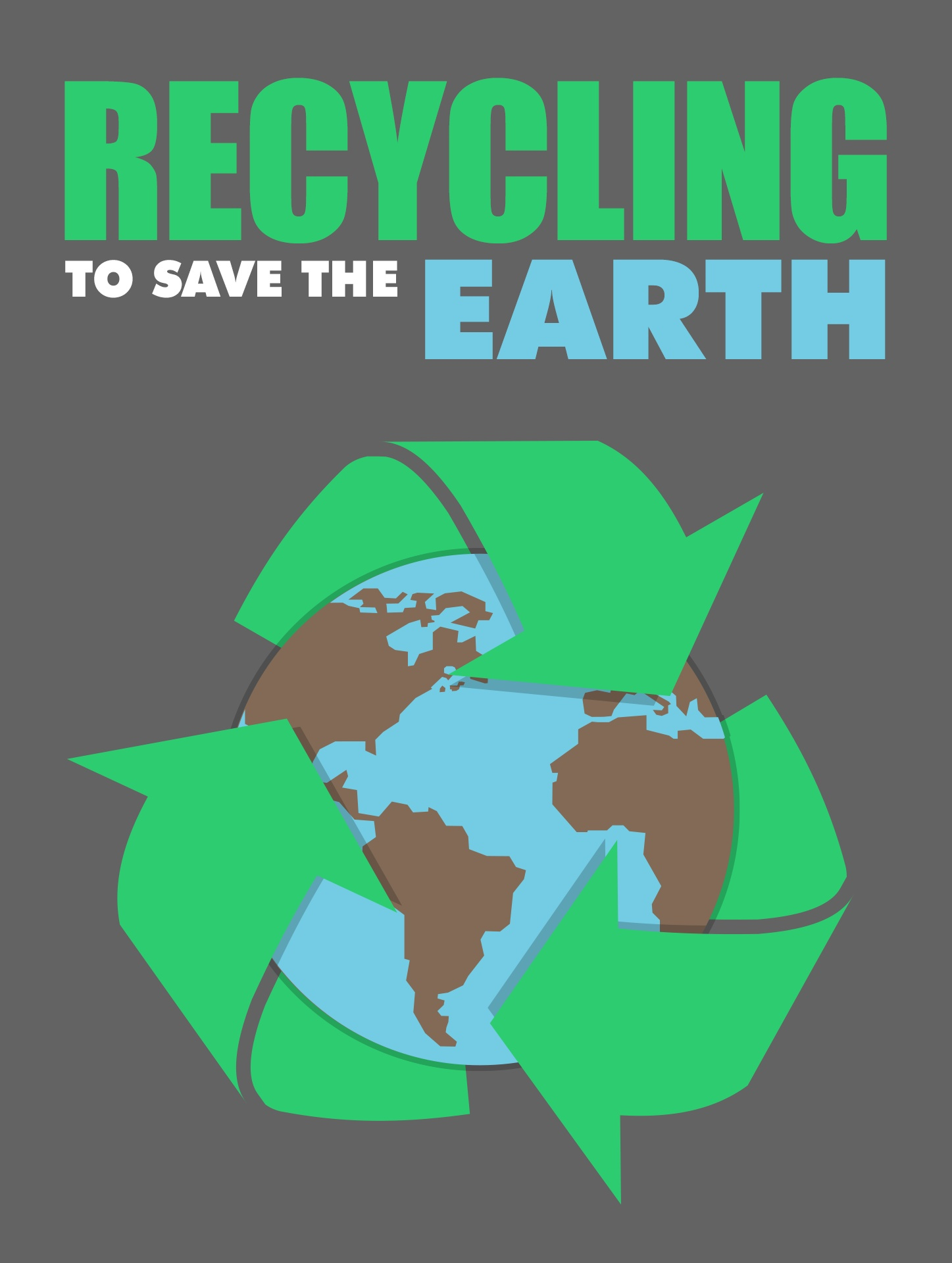 Recycling To Save The Earth