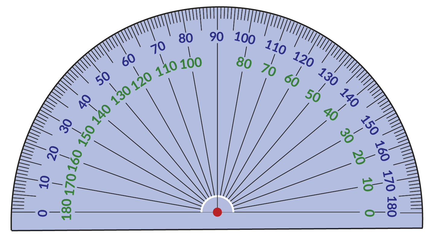 Protractor Use Of Protractor Amp Measuring Angles Solved