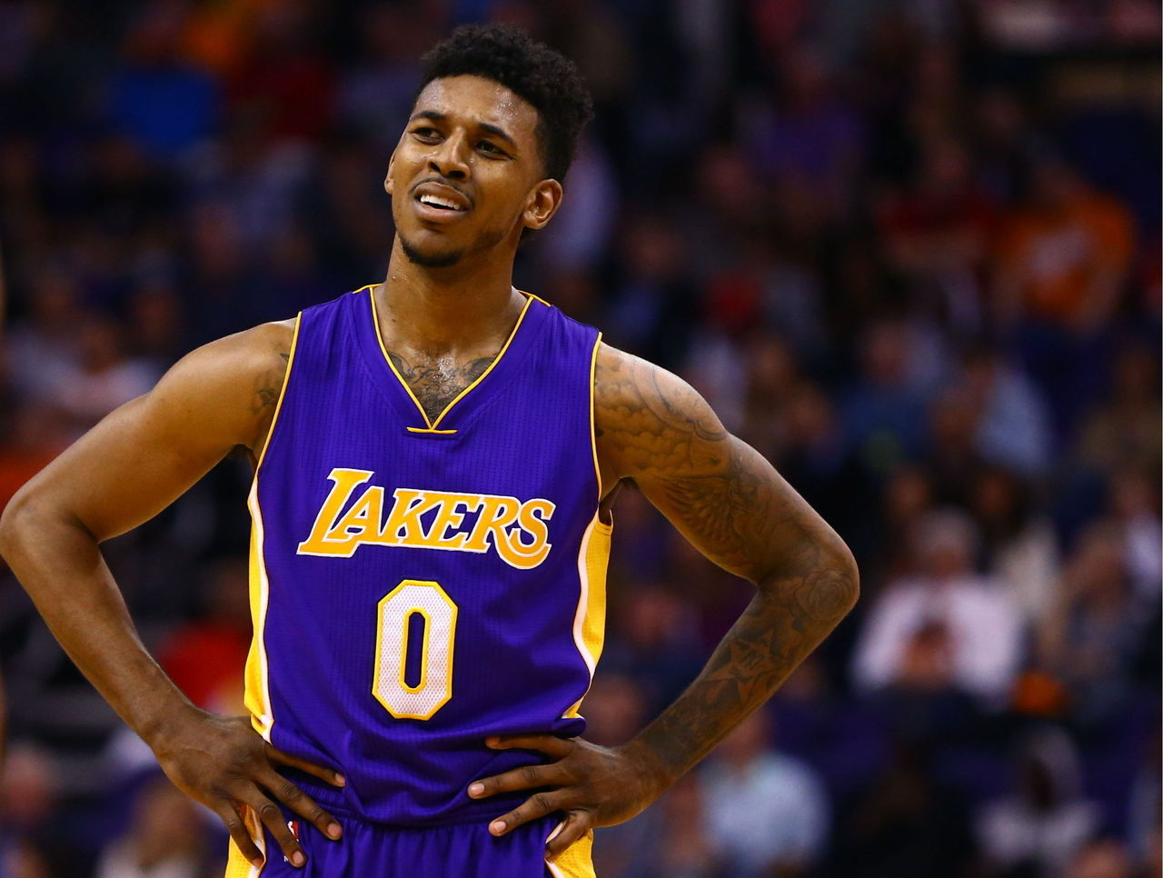 Swaggy P Haircut Lakers