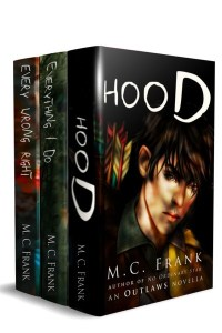 Outlaws Boxset Starter Library of Sample Books by M.C. Frank