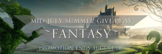 Mid July Summer Giveaway Fantasy Free fantasy books August Book Promotion