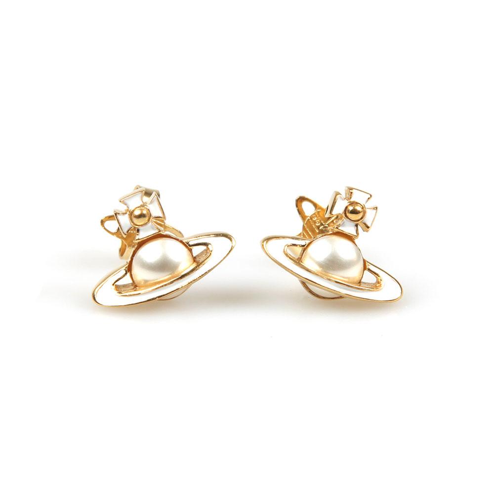 Vivienne Westwood Iris Bas Relief Earring Masdings