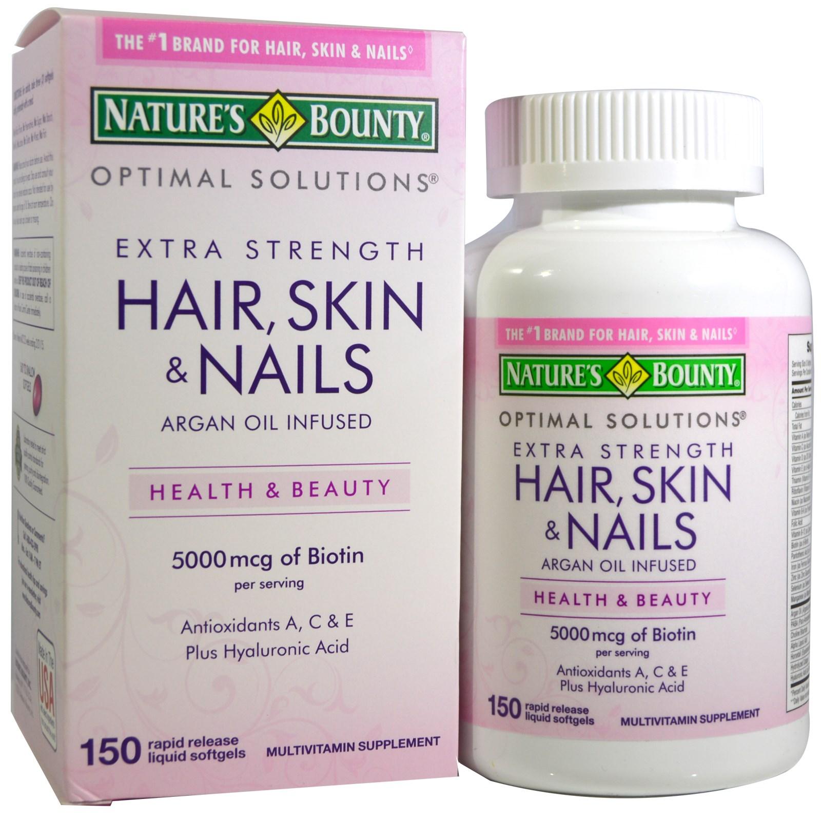 Natures Bounty Hair Skin Amp Nails 150