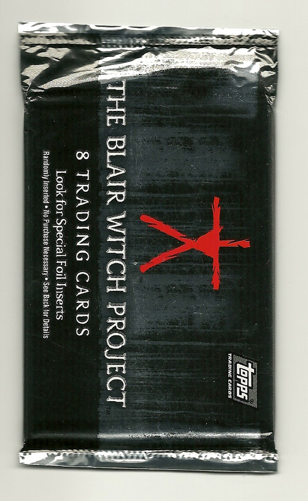 1999 Topps THE BLAIR WITCH PROJECT Trading Cards
