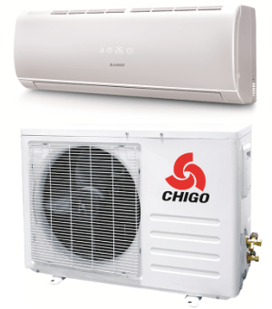 Chigo 12000 Btu 20 Seer 110V Mini Split Heat Pump Air
