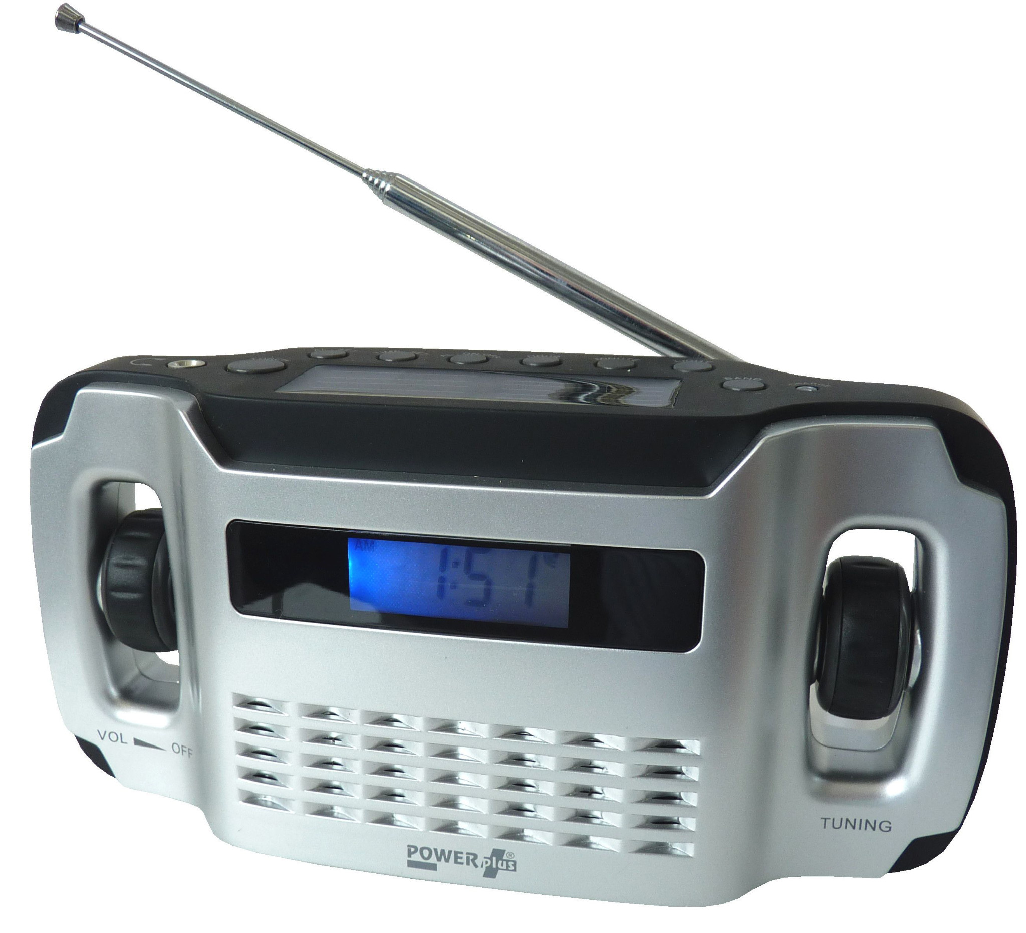 Powerplus Lynx Windup And Solar Fm Radio