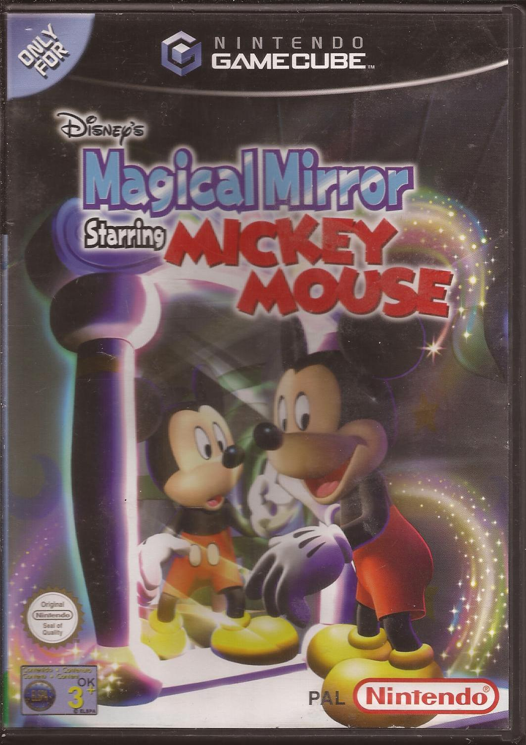Disneys Magical Mirror Starring Mickey Mouse Used