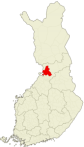 Oulun sijainti