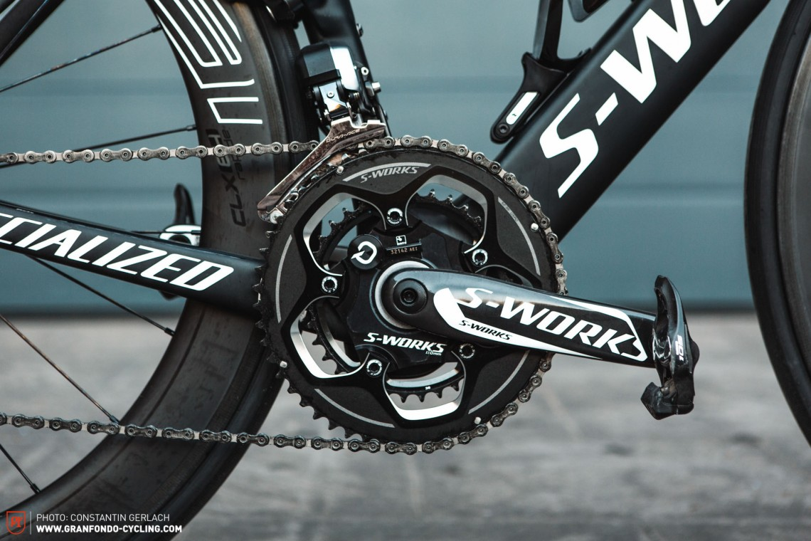 SPECIALIZED S-WORKS QUARQ パワーメーター