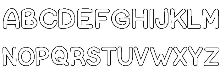 Bubble Letters Font Ffonts Net