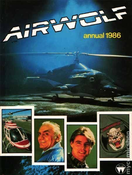 Image result for airwolf annual