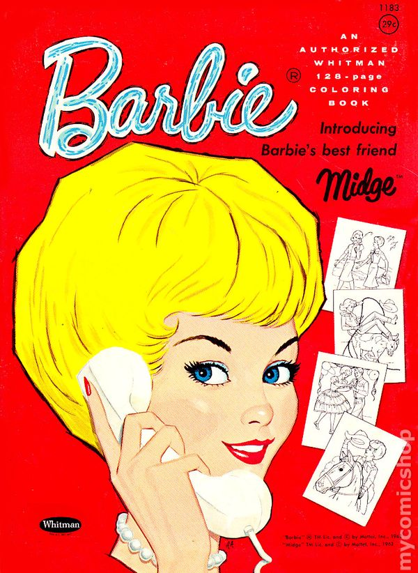 barbie coloring books for sale # 32