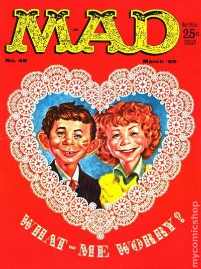 Mad 1955 Magazine 24 On Comic Books