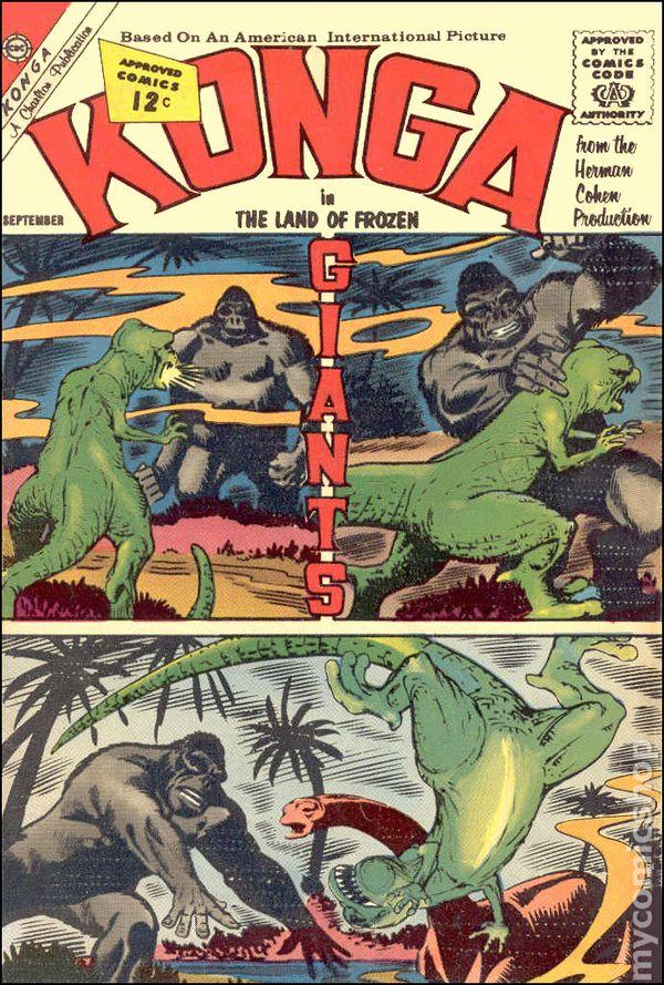 Konga (1961) comic books