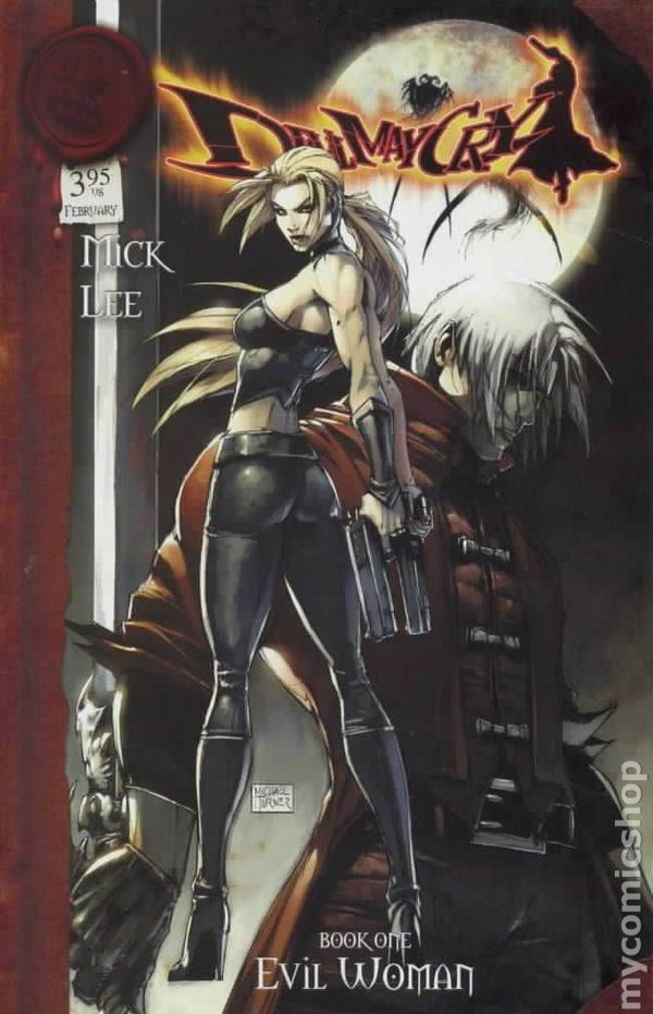 Devil May Cry (2004) comic books