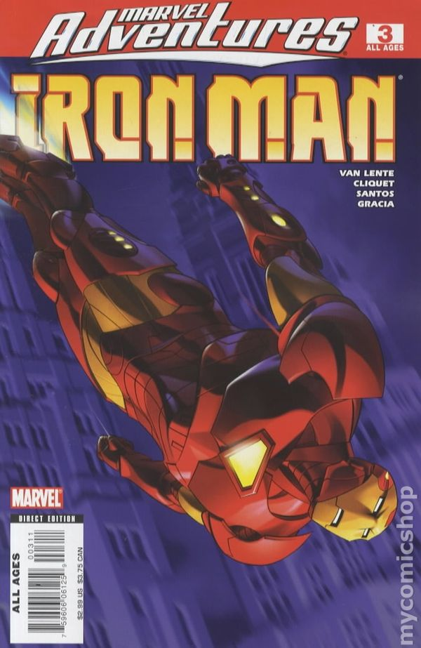Marvel Adventures Iron Man 2007 Comic Books
