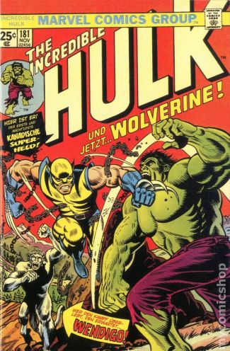 Image result for incredible hulk 181