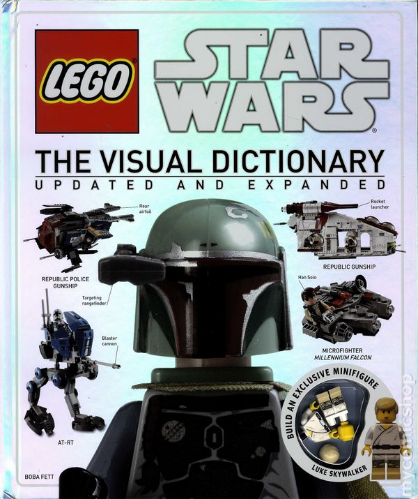 LEGO Star Wars The Visual Dictionary HC  2014 DK  Updated Expanded     LEGO Star Wars The Visual Dictionary HC  2014 DK  Updated Expanded Edition  comic books