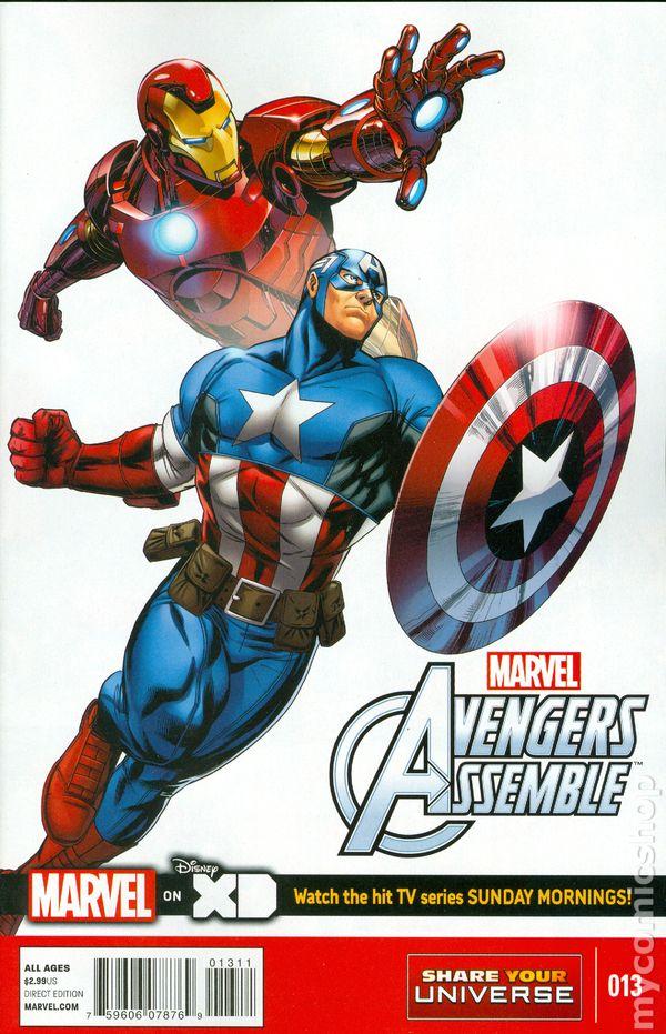 Avengers Assemble 2013 Marvel Universe Comic Books