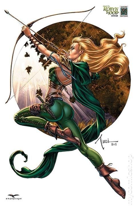 Grimm Fairy Tales Robyn Hood 2012 Zenescope 1st Series