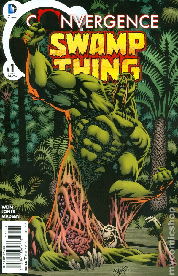Convergence: Swamp Thing #1 Cover