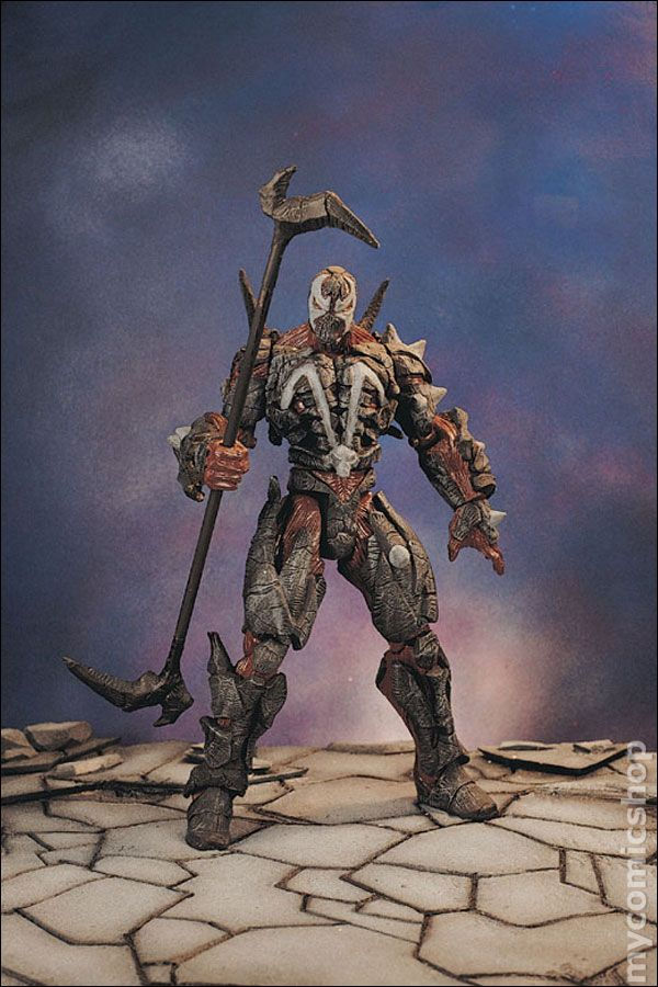 Comic books in Spawn Action Figure McFarlane Toys