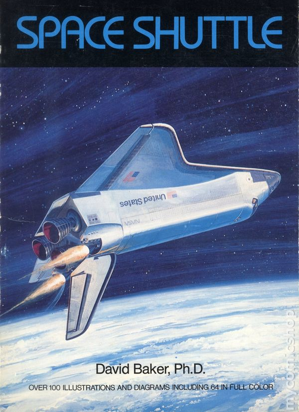 Space Shuttle SC 1979 Crown comic books