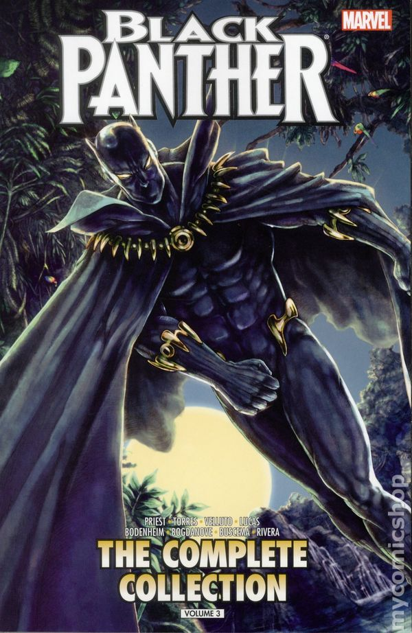 Black Panther TPB 2015 2016 Marvel By Christopher Priest