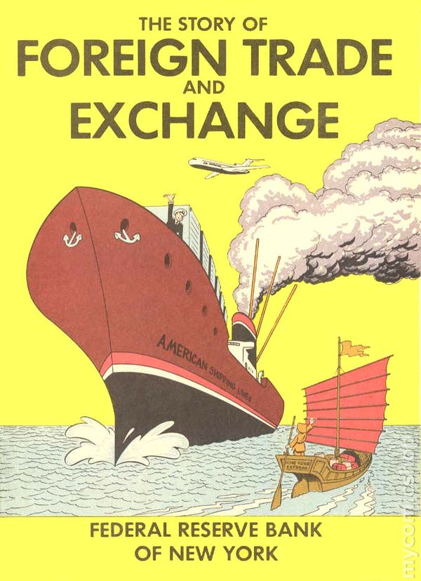 Story of Foreign Trade and Exchange (1985) comic books