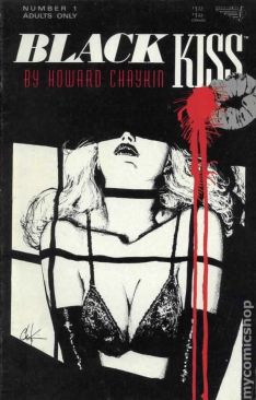 Image result for black kiss #1 comic