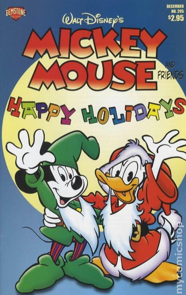 Gift Tags Christmas Mickey