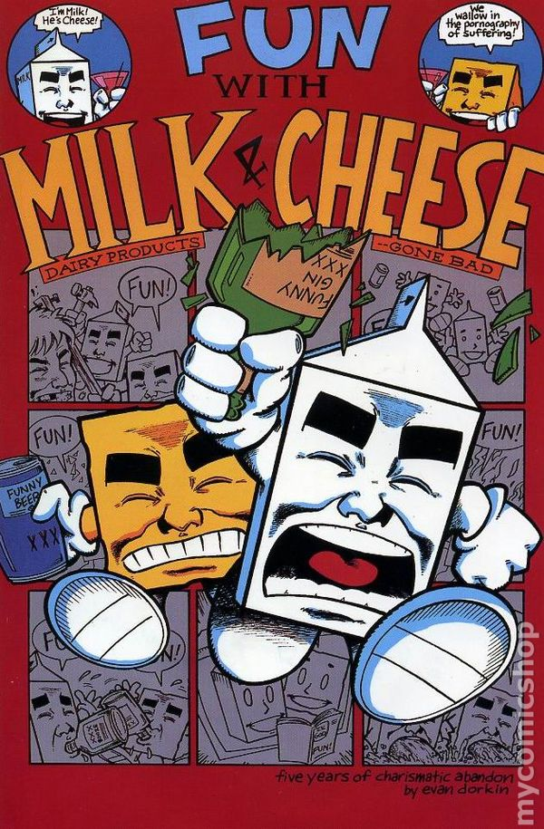 Fun With Milk & Cheese Cover