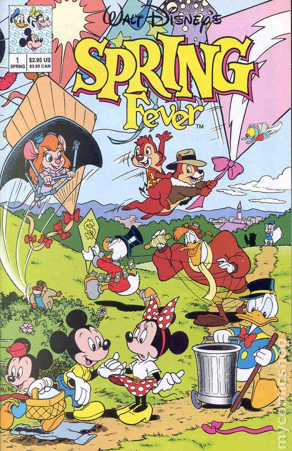 Walt Disneys Spring Fever 1991 Comic Books