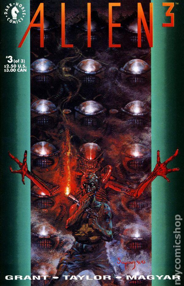 Alien 3 Movie Adaptation 1992 Comic Books