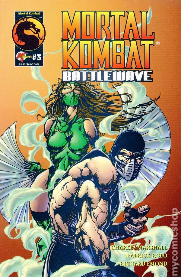 Mortal Kombat Battlewave 1995 Comic Books