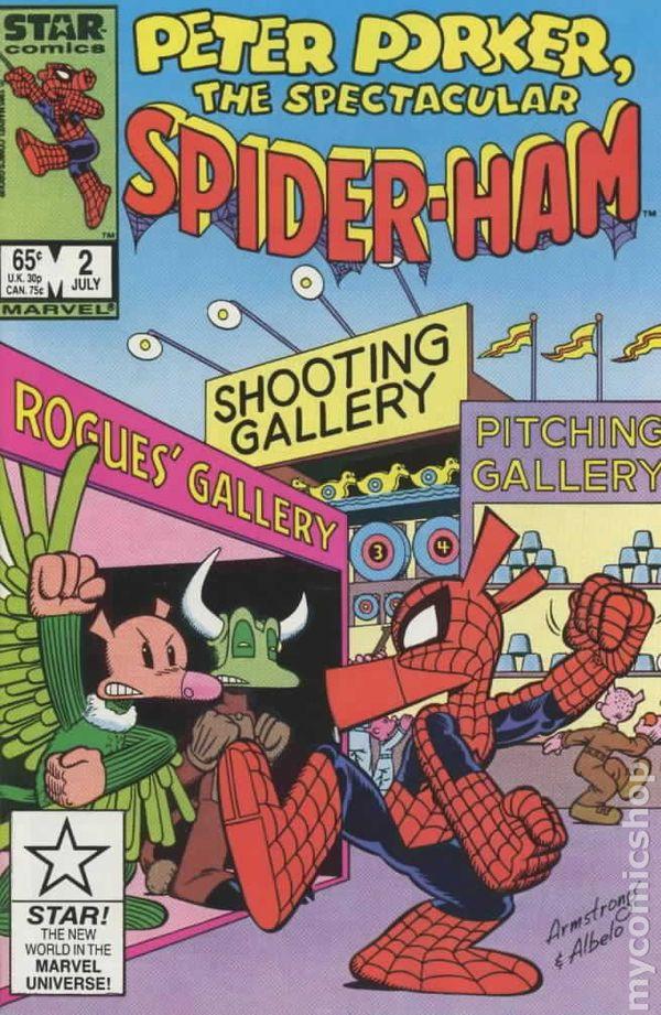 Peter Porker The Spectacular Spider Ham 1985 Comic Books