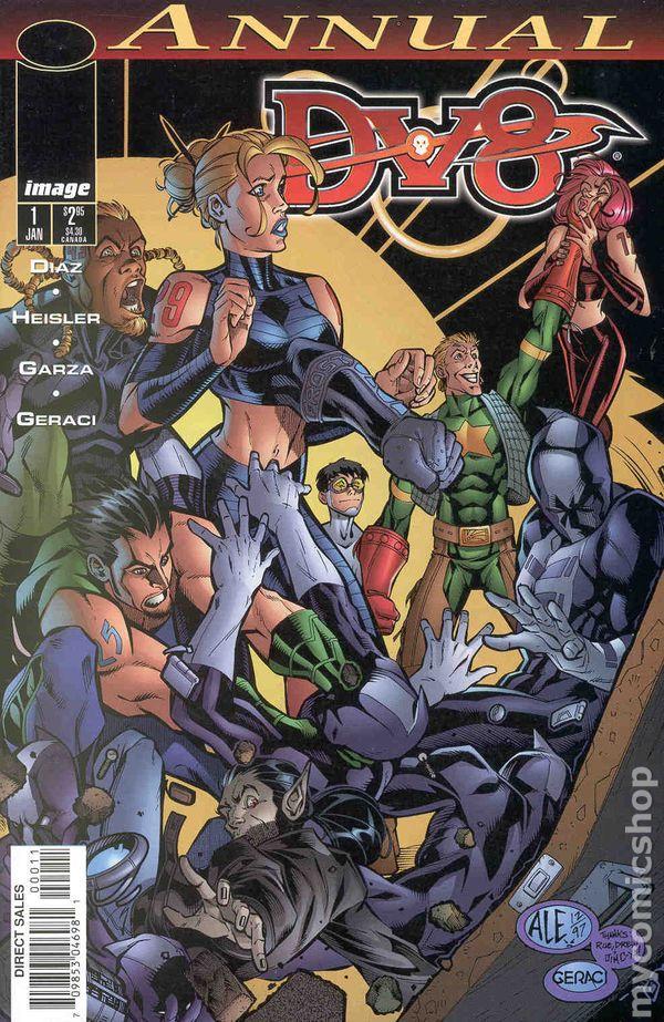 Dv8 1998 Annual Comic Books