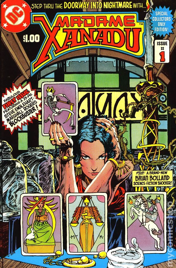 Madame Xanadu (1981 1st Series) comic books
