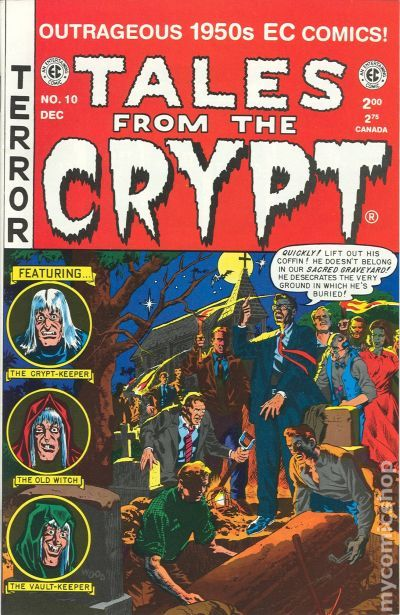 Tales From The Crypt 1992 Russ CochranGemstone Comic Books