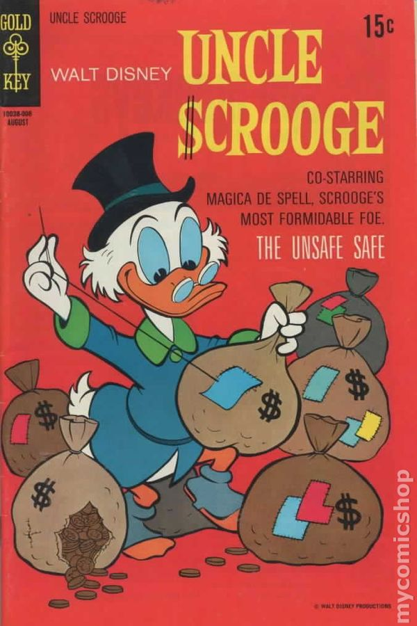 Uncle Scrooge 1954 DellGold KeyGladstoneGemstone