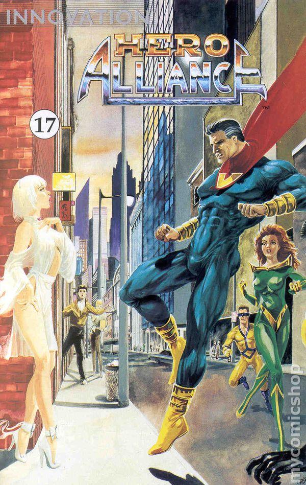 Hero Alliance 1989 Innovation Comic Books